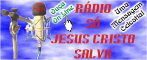 Logo Rádio Só Jesus Cristo Salva 2
